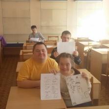 Заставка для - 21 марта состоялось проф-ориентационное тестирование 4 подростков с синдромом Дауна