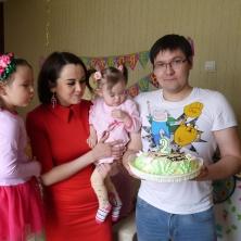 Заставка для - 14 мая исполнилось 2 годика Сафие!
