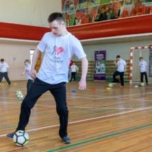 Заставка для - Прошла открытая тренировка группы по футболу для детей с синдромом Дауна