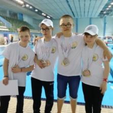 Заставка для - Уфимские пловцы с синдромом Дауна привезли медали с Чемпионата «Победим вместе» из г.Казань.