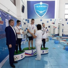 Заставка для - В Салавате прошёл первый этап кубка России по плаванию среди спортсменов с ОВЗ