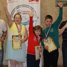 Заставка для - 15 -16 апреля состоялся первый открытый турнир по плаванию среди людей с синдромом Дауна «Победим вместе!»
