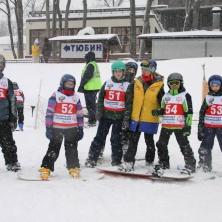 Заставка для - Соревнования на горных лыжах в последний день зимы