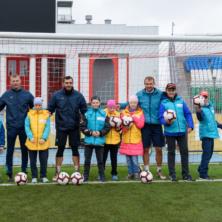 Заставка для - «Солнечные дети» посетили открытую тренировку ФК «Уфа»