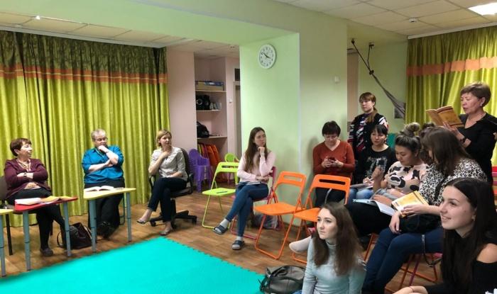Заставка для - В Уфе прошел семинар по двигательному развитию детей с синдромом Дауна раннего возраста.