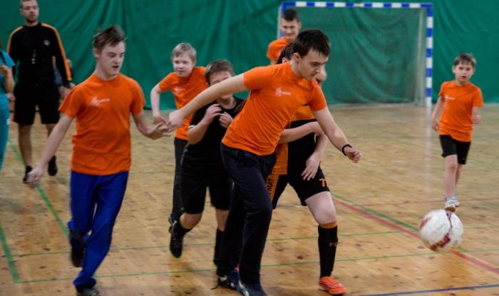 Заставка для - В спортивном Комплексе «Локомотив» прошел дружеский турнир «Футбол объединяет» среди детей с ОВЗ