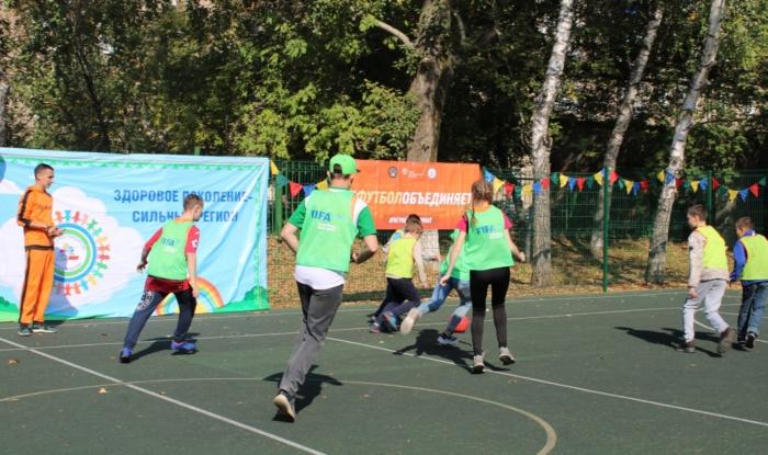 Заставка для - В Уфе впервые прошел фестиваль Футбола в рамках проекта FIFA «Футбол во имя надежды».