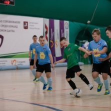 Заставка для - Уфимские ребята приняли участие в соревнованиях по мини-футболу среди команд людей с синдромом Дауна